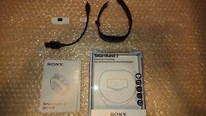 Sony SmartBand 2 (SWR12)  - Black - Bluetooth, Heart Rate Monitor, NFC