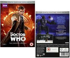 DR WHO 2008+2009+2010 SPECIALS  CHRISTMAS/NY/Easter Doctor David Tennant DVD UK
