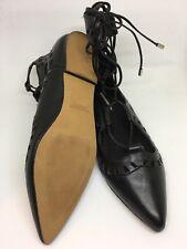Windsor Smith Sunset perforated lace-up flat shoes UK size 4.5, EU size 38