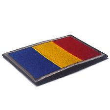 ROMANIA FLAG RUMANIA FLAG RO FLAG 3D ARMY MORALE BADGE MILITARIA HOOK LOOP PATCH