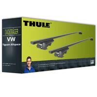 Thule SquareBar - Dachträger - Stahl - für VW Tiguan Allspace komplett inkl. EBA