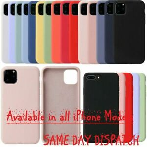 Soft Rubber TPU Silicone Matte Phone Back Cover Case For iPhone SE 2 (2020) UK