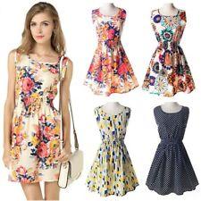 Korean Style Sleeveless Chiffon Dress Summer Look