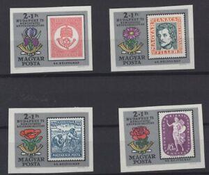 HUNGARY, MAGYAR, STAMPS, 1971, Mi. 2684 - 2687 B **