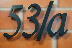 Numeri civici numero civico tipo americano nero per esterno
