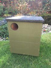Little owl nesting box indoor or outdoor handmade nest box