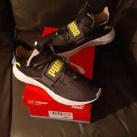 Puma Persist XT Knit  Castlerock - Yellow Alert  Shoes Mens size 8