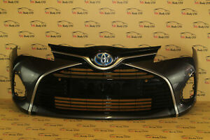TOYOTA YARIS FROM 2014 TO 2017 GENUINE FRONT BUMPER (4669)
