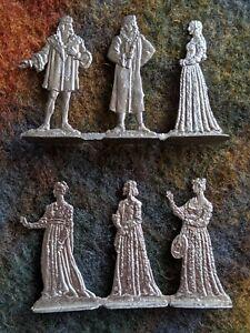 Pewter Tin Flat Figures- Italian Renaissance