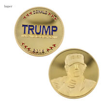 The United States presidential Donald Trump coin gold eagle Novelty Coin