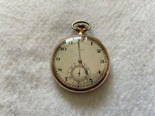Up Vintage Pocket Watch Elgin 17 Jewels Mechanical Wind