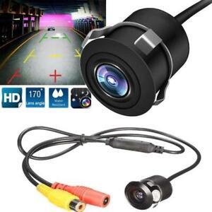 170° HD Car Rear View Camera Reversing Parking Cam Night Vision Waterproof CCD