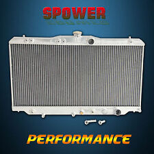 Aluminum Radiator For Honda Prelude BA 2Dr AT MT 1987-1991 + 1.3Bar Cap