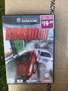 Burnout (Nintendo GameCube, 2002) - European Version