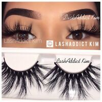 ❤️💕 Thick Mink Lashes Eyelashes 3 Pairs Makeup Fur New | US SELLER ❤️💕