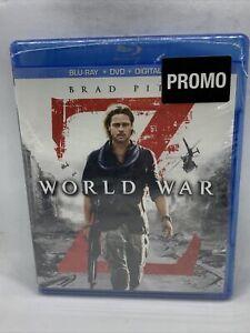 World War Z Promo Copy (Blu-ray) BRAND NEW SEALED Dvd Digital Brad Pitt