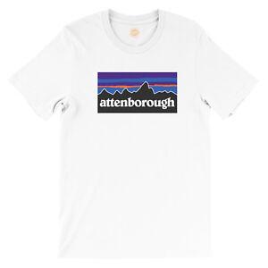David Attenborough Nature Logo T-Shirt