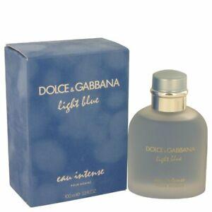 Light Blue Eau Intense by Dolce & Gabbana Eau De Parfum Spray 3.3 oz for Men