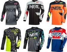 2021 O/'Neal Element Kinder Jersey Villain Grau Trikot MX MTB BMX Motocross