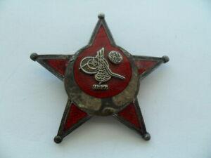 Türkei Eiserner Halbmond Orden. Gallipoli Stern.Hersteller B & Co.1.Weltkrieg