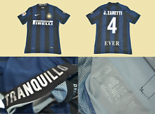 inter milan jersey 2013 2014 zanetti 4 ever last match shirt version player
