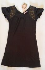 GIRLS JUICY COUTURE GRAPHITE GREY WITH SEQUINS DRESS AGE 14 £135 Now £27.50