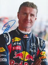 DAVID COULTHARD Red Bull F1 Foto 15x20 orignal signiert IN PERSON Autogramm