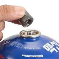 Cartridge Gas Refill Adapter Nozzle Bottle Type Butane Gas Cartridge New Q