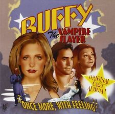Buffy The Vampire Slayer Once More With Feeling Original Cast Recording - NEW CD