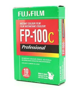 [New] Fujifilm FP-100C Professional Instant Color Film (Exp 2014) from Japan