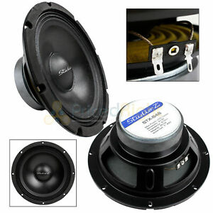 """8"""" Subwoofer Speaker Replacement 8 Ohm Home Audio Or Dj Bass Driver Woofer New"""