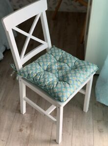 Chair pads with ties Indoor Bistro cushions