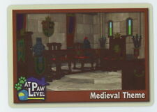 Webkinz At Paw Level Insert Card - Medieval Theme