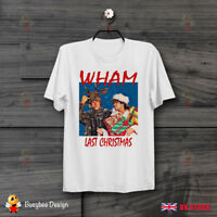 George Michael Wham Last Christmas Retro Cool Ideal GIFT UNISEX  T Shirt B415