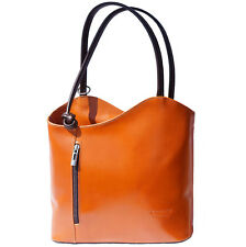 Backpack Purses Bag Italian Genuine Leather Hand made in Italy Florence 207