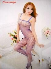 Sexy  Modern Mesh Black Fishnet Open Crotch Body Stocking Lingerie Net