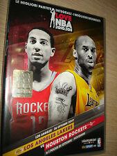 2 DVD I Love NBA 2010-11 N ° 1 los Angeles Lakers Vs Houston Rockets Ita-Eng