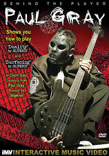 Paul Gray Slipknot Behind The Player Bass Guitar Lesson Dvd New