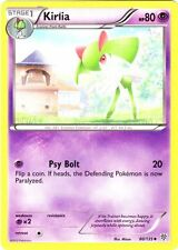 4x Pokemon Plasma Storm Kirlia - 60/135 - Uncommon Card