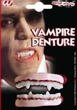 DENTIER VAMPIRE DRACULA HALLOWEEN latex souple farce PROMO 4148