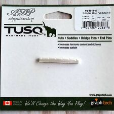 SILLET Graph Tech TUSQ PQ-5042 Tele Strat 42mm PQ-5042-00 Slotted Nut FLAT short