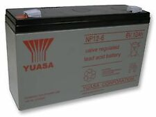 BATTERY LEAD-ACID 6V 12AH Batteries Rechargeable - CM86747