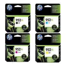 HP 952XL OEM Original Ink Cartridge Combo High Yield BK/C/M/Y For 8216 8710 8720
