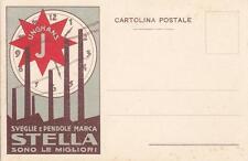 C1712) SVEGLIE E PENDOLE MARCA STELLA, SONO LE MIGLIORI.