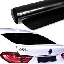 6,84€/m² 76x500cm TÖNUNGSFOLIE Tief Schwarz Black Plus 95% Scheiben Folie Auto