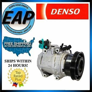 For 2005-2009 Sportage Tucson 2.0L 4cyl OEM Denso AC A/C Compressor NEW