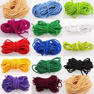 2M/5M Strong Stretchy Elastic String Thread Cord For DIY Jewelry Making 3mm