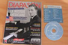 Revue Diapason N°621 Musique américaine Cencic Skip Sempé Gershwin ...Revue + CD