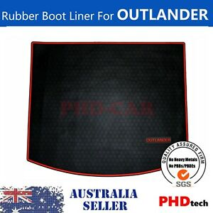 Cargo Trunk Rubber Mat Boot Liner For Mitsubishi Outlander 2012-2021 ZJ ZK ZL RE