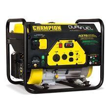 100307 - Champion 3500/4375w Dual Fuel Generator